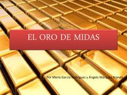 EL ORO DE MIDAS - Lengua catellana y Literatura 2º ESO B