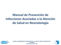 130_Duran_Manual de Prevención de Infecciones Asociadas a la