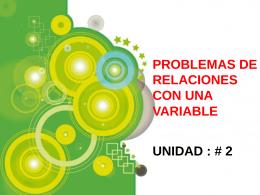 formulacion UNIDAD 2