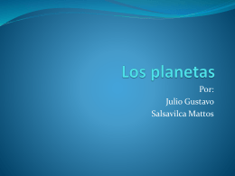 Los planetas - WordPress.com