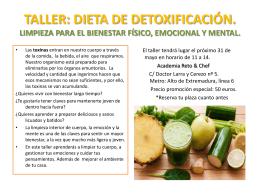 detox - Academia Reto & Chef
