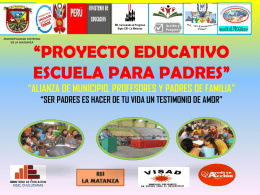 RED EDUCATIVA - Municipalidad Distrital de La Matanza