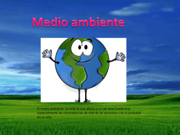 Medio ambiente - WordPress.com