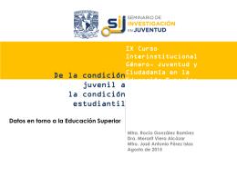 Presentación de PowerPoint - Seminario de Educación Superior de