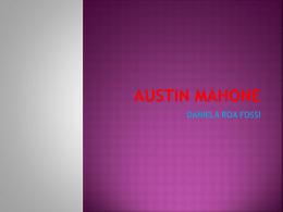 AUSTIN MAHONE - danielarf123