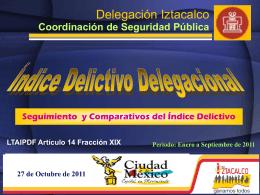 4 - Delegación Iztacalco - Gobierno del Distrito Federal