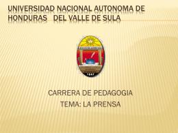 universidad nacional autonomcarrera a del valle de sula