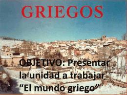 ppt griegos - Colegio Santa Teresa De Los Andes