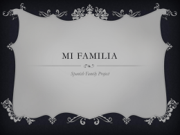 Mi familia - Mi Portfolio of Awesome!! -Eli