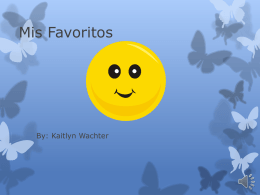 Mis Favoritos - Kaitlyn Wachter