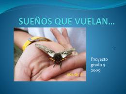 SUEÑOS QUE VUELAN p.p.