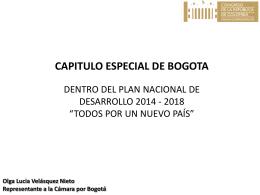 Presentación_PND y Bogota_HR Olga L. Velasquez