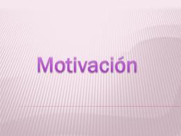 Motivacion autodeterminacion