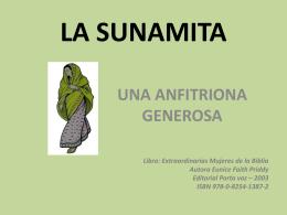 LA SUNAMITA - Byron & Anita Vaughn