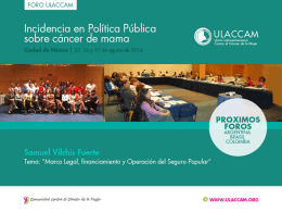 consenso mexicano sobre diagnóstico y tratamiento