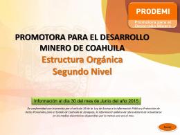 promotora para el desarrollo minero de