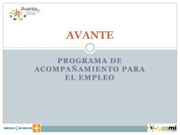 Programa_AVANTE