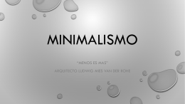 Minimalismo - WordPress.com