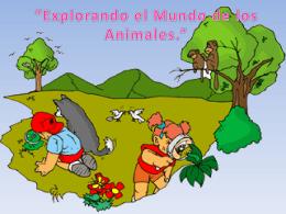 Explorando el Mundo de los Animales.