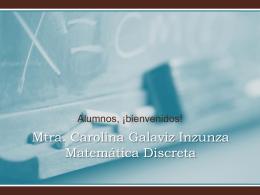 Mtra. Carolina Galaviz Inzunza Email