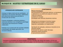 ACTIVIDADES TERCERO BLOQUE 3-4