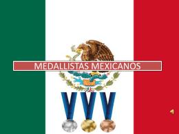 MEDALLISTAS MEXICANOS