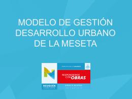 Presentación del Proyecto de Urbanización de la Meseta