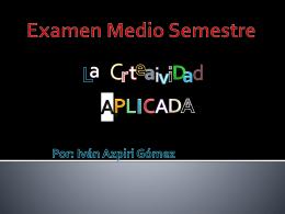 Examen Medio Semestre