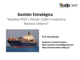 Ayudantia 1 Analisis PEST-Porter - Ignacia Vargas