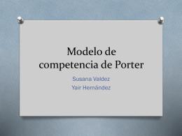Modelo de competencia de Porter - Arojas-EE