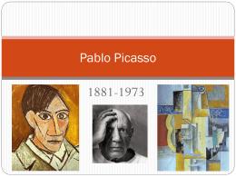 Pablo Picasso - Señor Mitchum