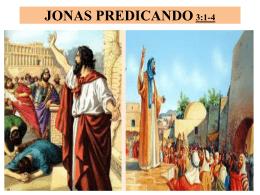 JONAS PREDICANDO - lapuertaangosta
