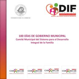 100dias - Municipio de Oaxaca de Juárez