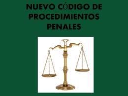nuevo código de procedimientos penales