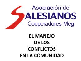 EL MANEJO DE LOS CONFLICTOS EN LA COMUNIDAD