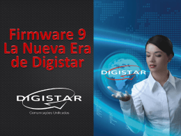 Firmware 9.0 - La Nueva Era de Digistar