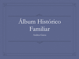 Album Histórico Familiar