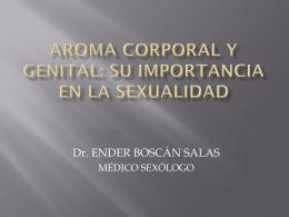 Aroma Corporal y Genital