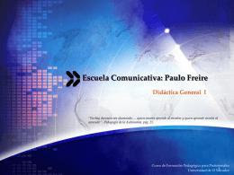 Escuela Comunicativa - Curso de Formación Pedagogica para