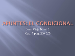 7-1: La condicional