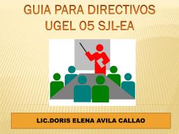 Guía para directivos