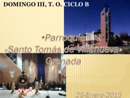 Palabra del Señor - Parroquia Santo Tomás de Villanueva