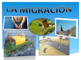 Migraciones.