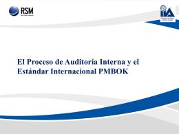 El Proceso de Auditoría Interna y el Estándar Internacional