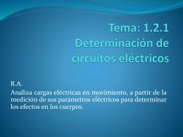 Tema: 1.2.1 Determinación de circuitos eléctricos