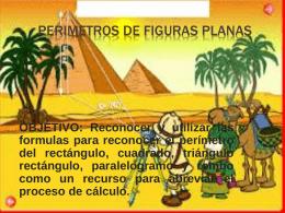 PERIMETROS DE FIGURAS PLANAS