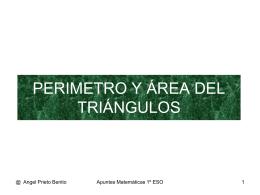 6.4 Perimetro y areas