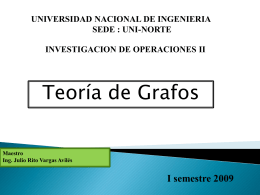 Grafo - MSc. Ing. Julio Rito Vargas Avilés