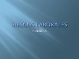 Riesgos laborales - Informatica PCPI