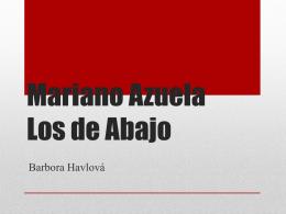 Mariano Azuela Los de Abajo